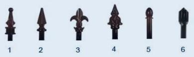 Optional Spear Tops