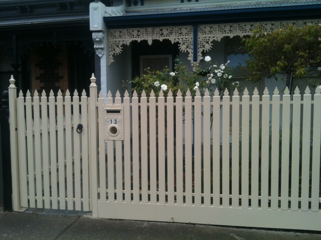 Steel Picket Fence Ascot Vale