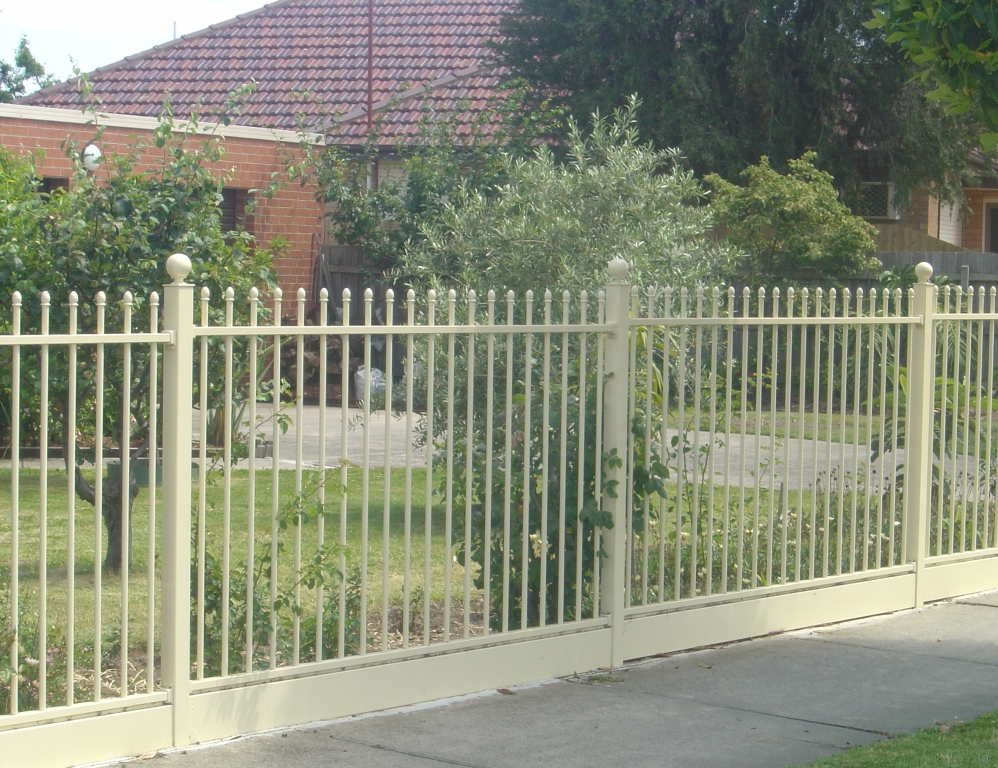 Front Steel Fence