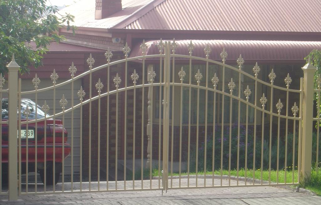 Arched gates