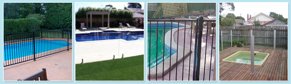 DIY pool fence range