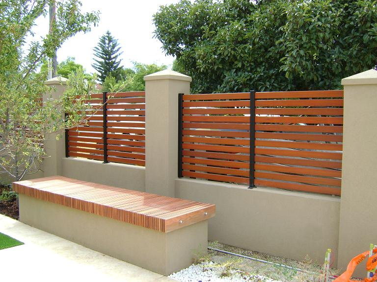 Brick Fence On Pinterest Concrete Fence Wrought Iron